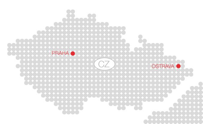 F.S.C. Bezpečnostní poradenství - Kontakty - Mapa